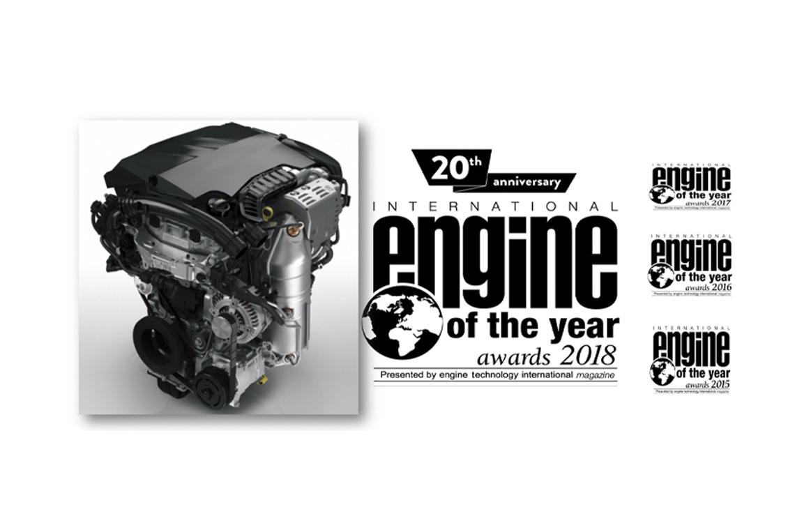 Турбированные бензиновые моторы PureTech Группы PSA снова стали «Двигателем Года»!