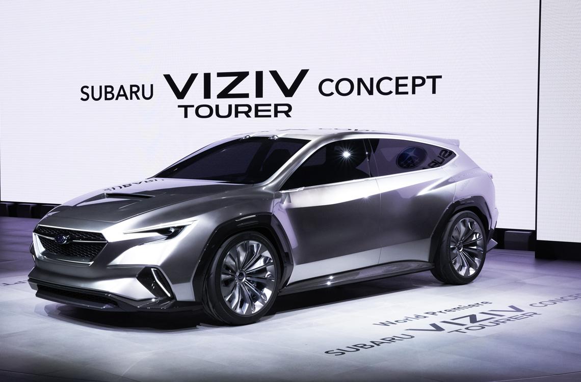 НА 88-В женевском международном автосалоне был представлен концепт SUBARU VIZIV TOUR