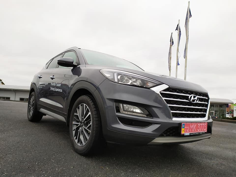Продажа Hyundai Tucson после тест-драйва!