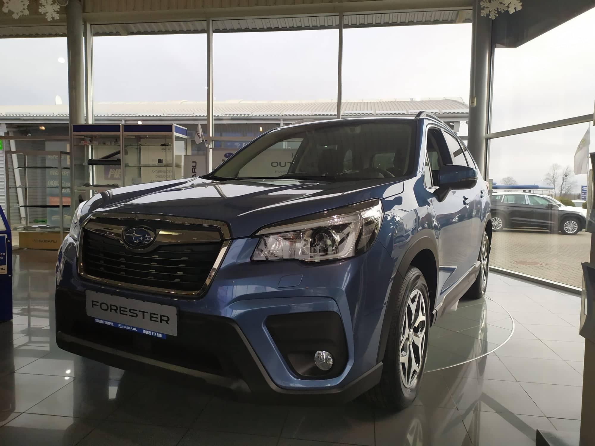 Subaru Forester признан самым безопасным авто 2019 среди компактных кроссоверов по версии Euro NCAP !!!