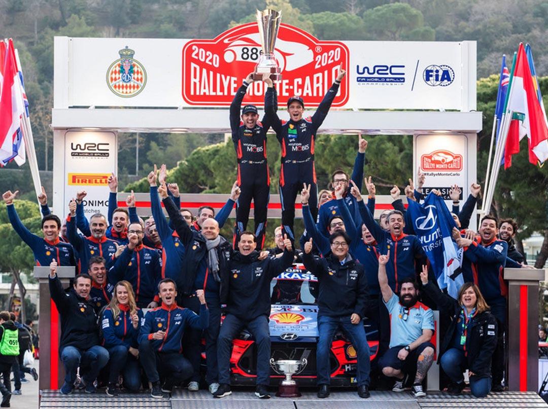 WRC-2020: дебютная победа Hyundai Motorsport в новом сезоне