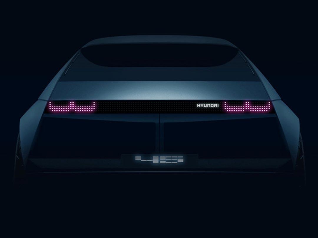 Hyundai Motor представит концепт электромобиля «45»