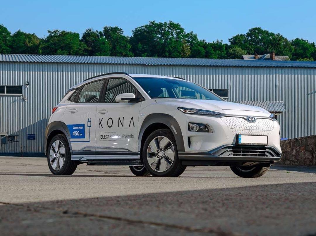 Тест Hyundai Kona Electric — официальный и дальнобойный