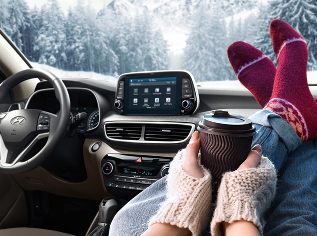Подготовьте ваш автомобиль Hyundai к зиме